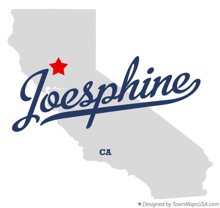 Map of Joesphine California CA