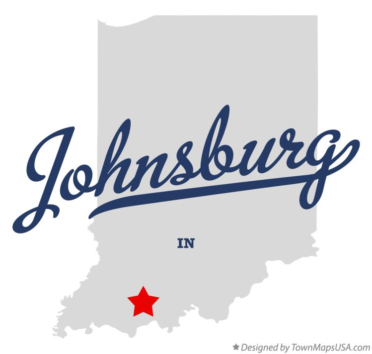 Map of Johnsburg Indiana IN