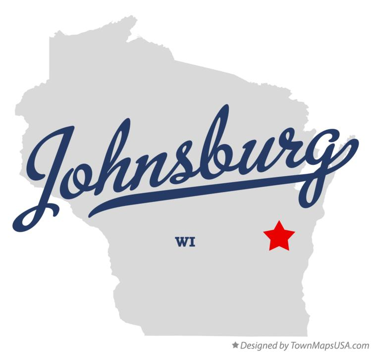 Map of Johnsburg Wisconsin WI
