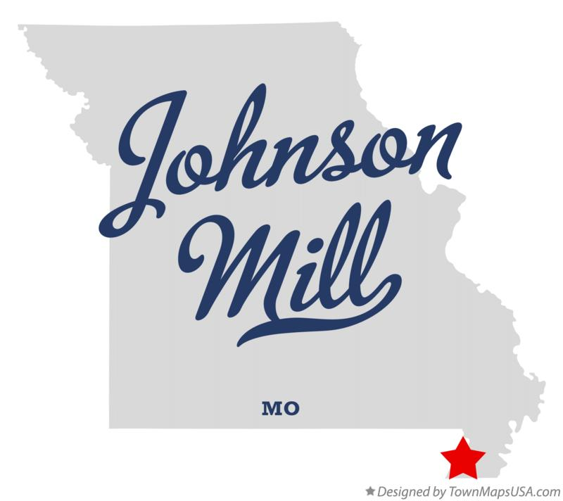 Map of Johnson Mill Missouri MO