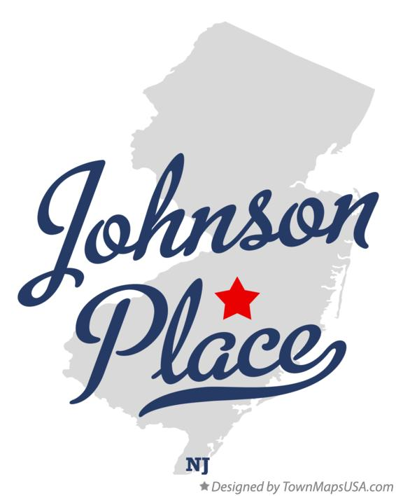 Map of Johnson Place New Jersey NJ