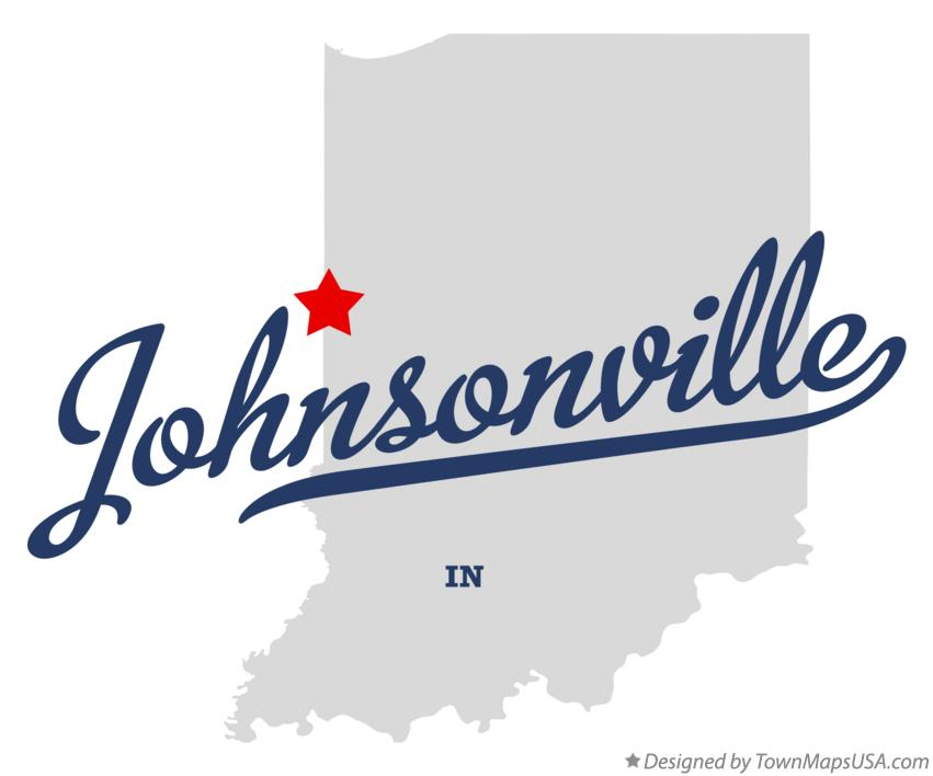 Map of Johnsonville Indiana IN