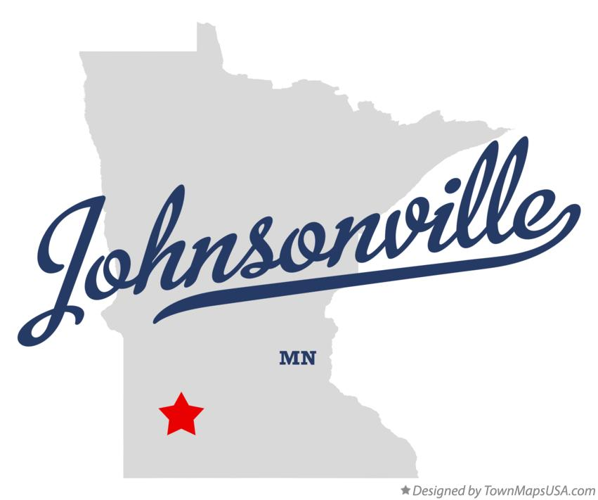 Map of Johnsonville Minnesota MN