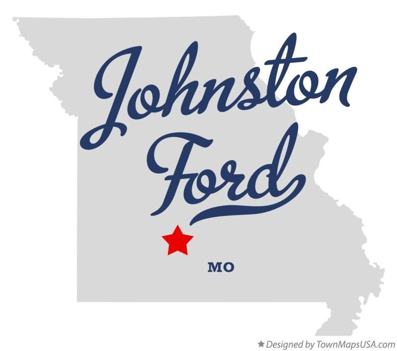 Map of Johnston Ford Missouri MO