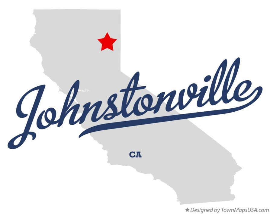 Map of Johnstonville California CA