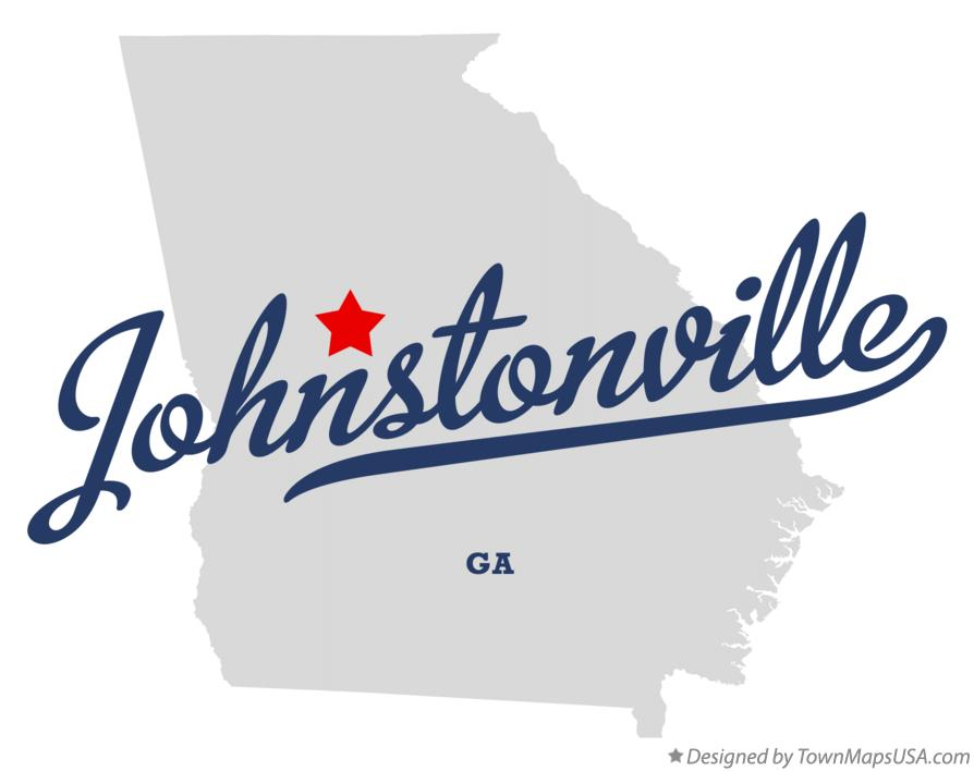 Map of Johnstonville Georgia GA