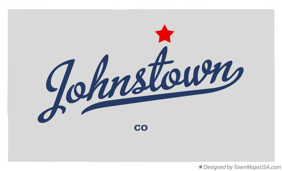 Map of Johnstown Colorado CO