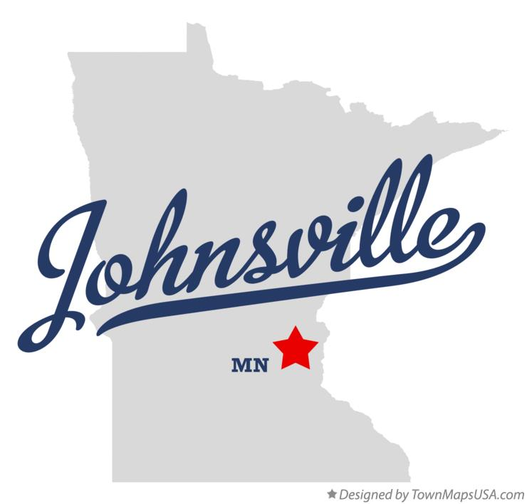 Map of Johnsville Minnesota MN