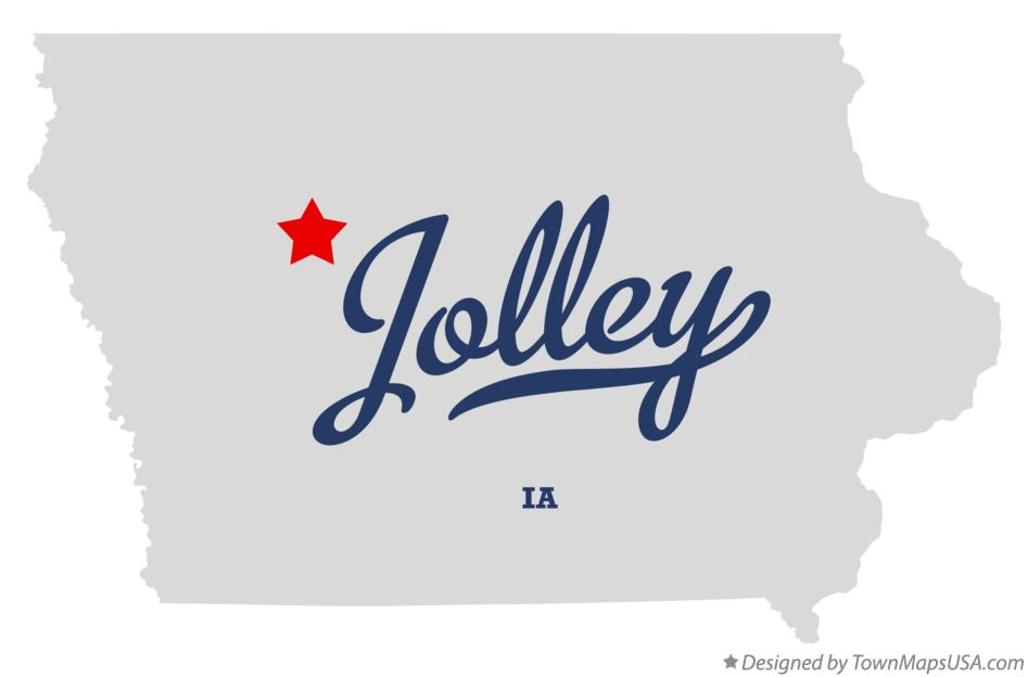 Map of Jolley Iowa IA