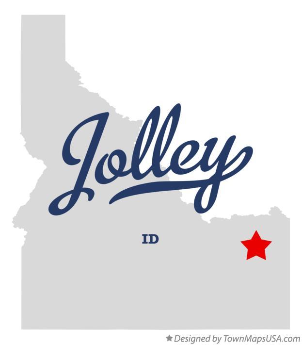 Map of Jolley Idaho ID