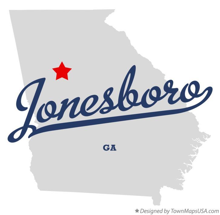 Map Of Jonesboro Georgia.Map Of Jonesboro Ga Georgia