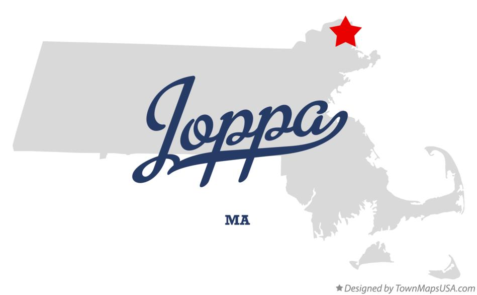 Map of Joppa Massachusetts MA