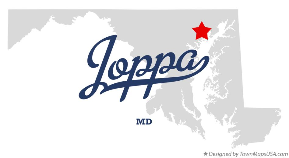 Map of Joppa Maryland MD