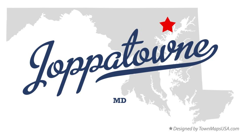 Map of Joppatowne Maryland MD