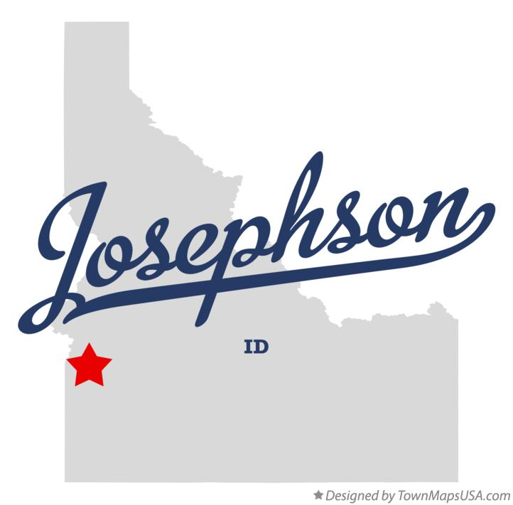 Map of Josephson Idaho ID