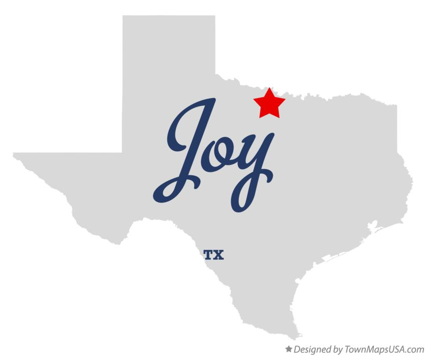Map of Joy Texas TX