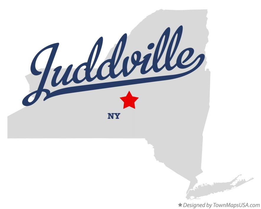 Map of Juddville New York NY