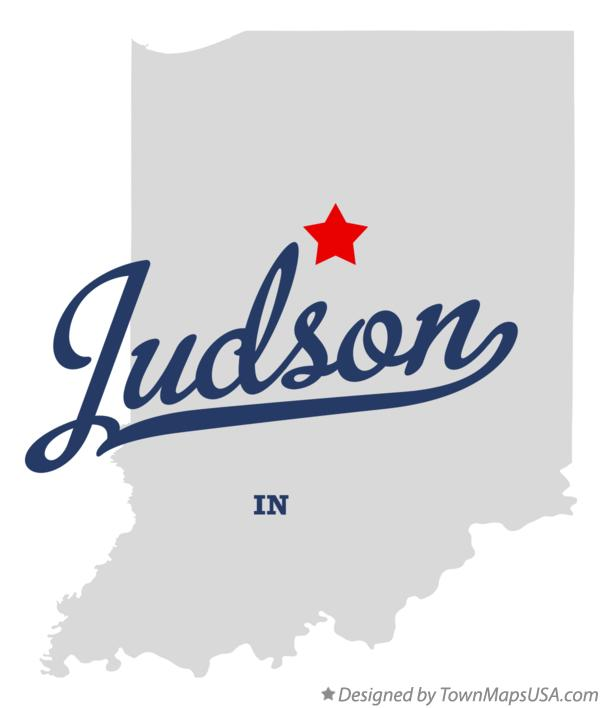 Map of Judson Indiana IN
