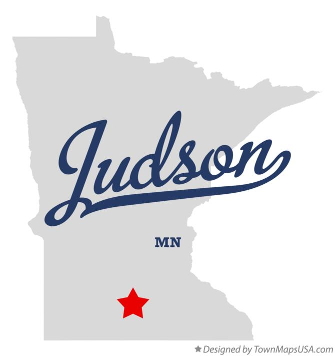 Map of Judson Minnesota MN