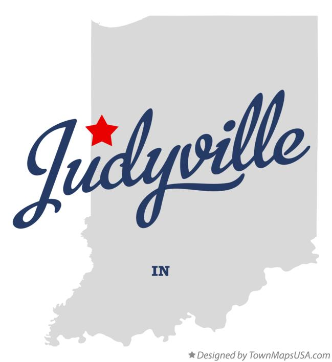 Map of Judyville Indiana IN