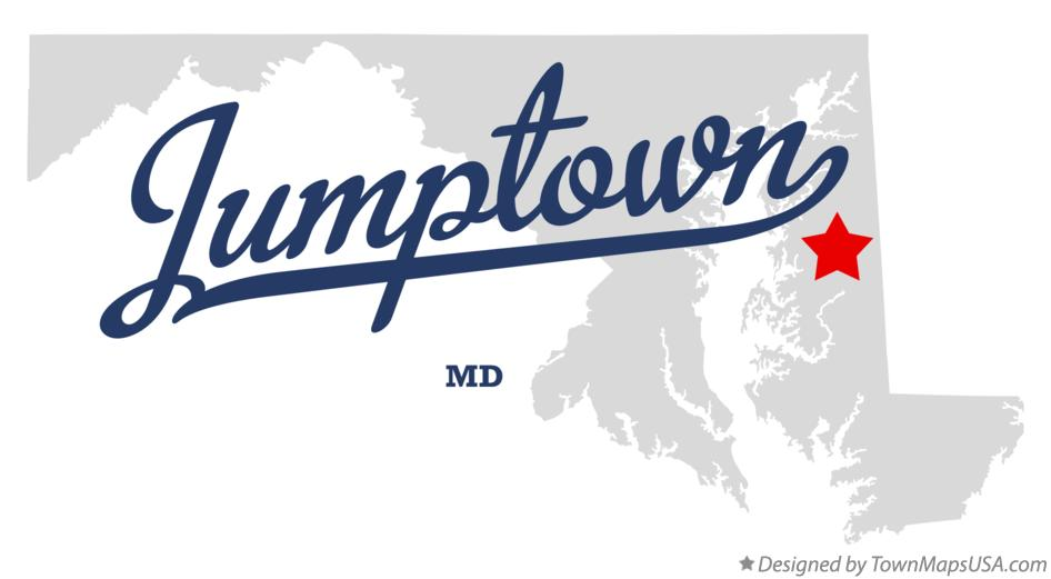 Map of Jumptown Maryland MD