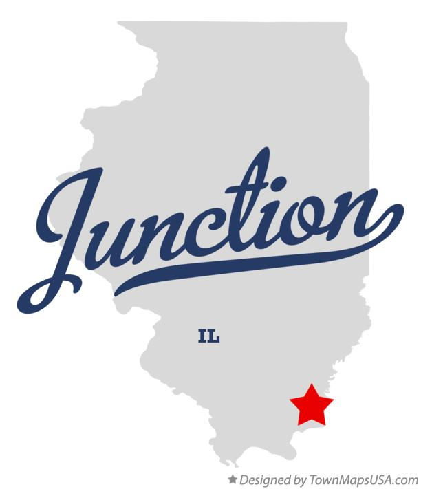 Map of Junction Illinois IL