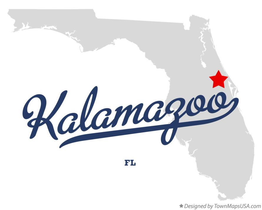 Map of Kalamazoo Florida FL