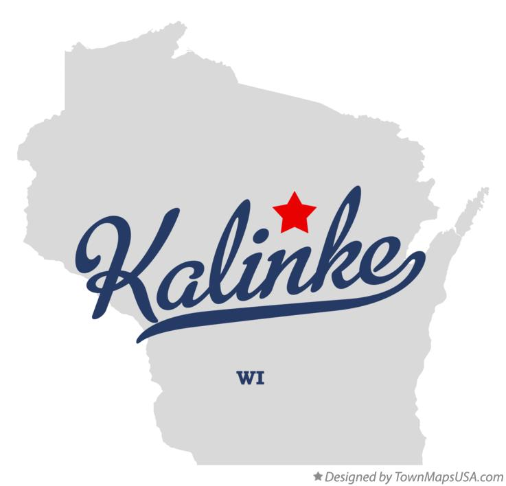 Map of Kalinke Wisconsin WI