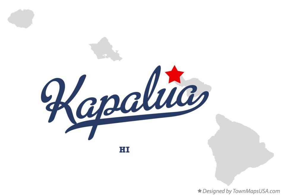 Kapalua Hawaii Map.Map Of Kapalua Hi Hawaii
