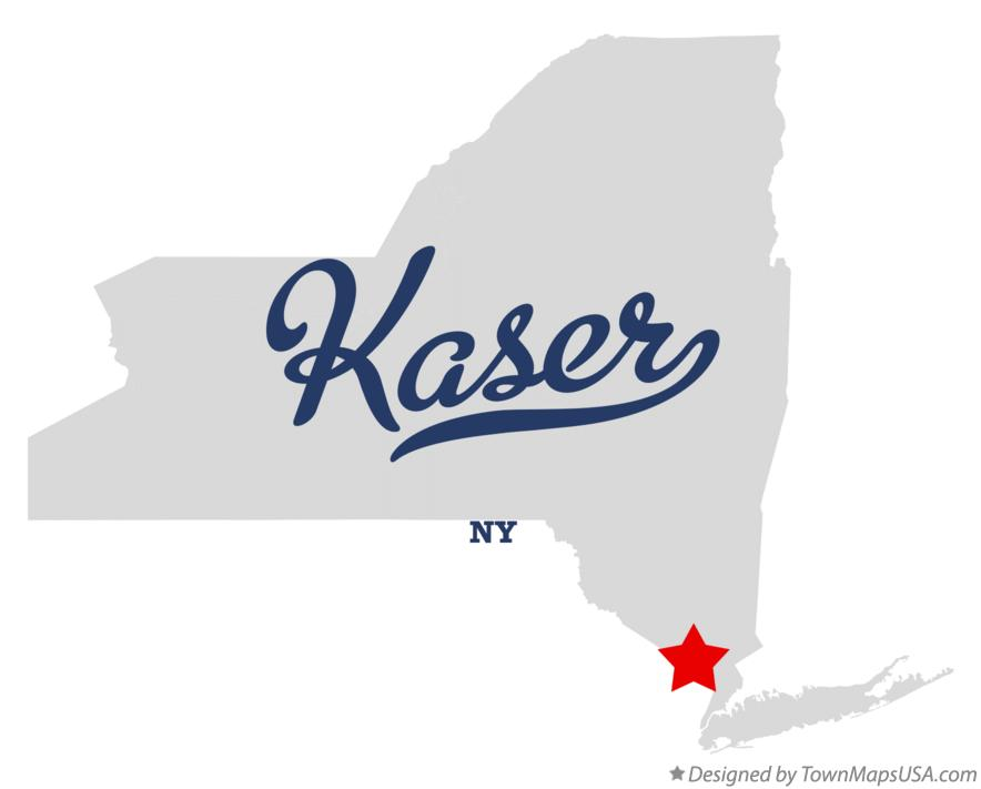 Map of Kaser New York NY