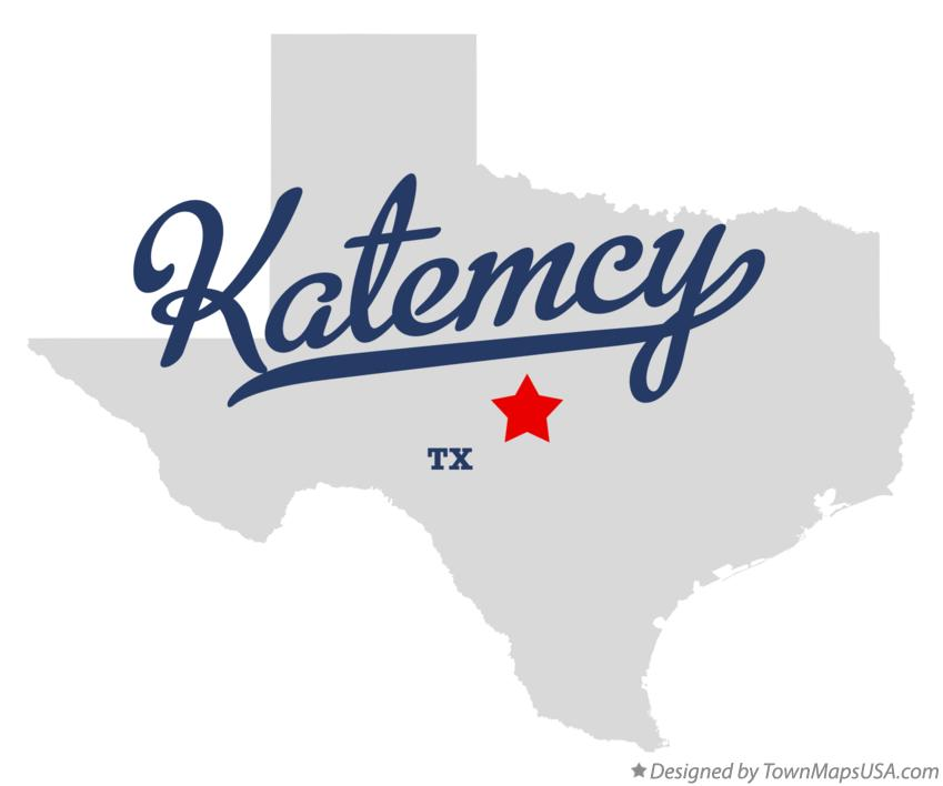 Map of Katemcy Texas TX