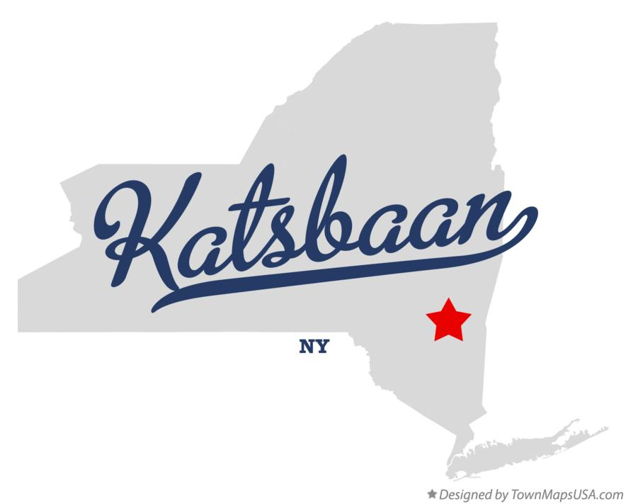 Map of Katsbaan New York NY