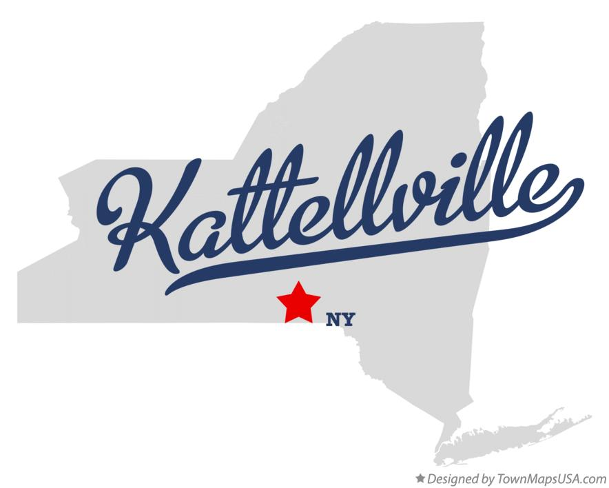 Map of Kattellville New York NY
