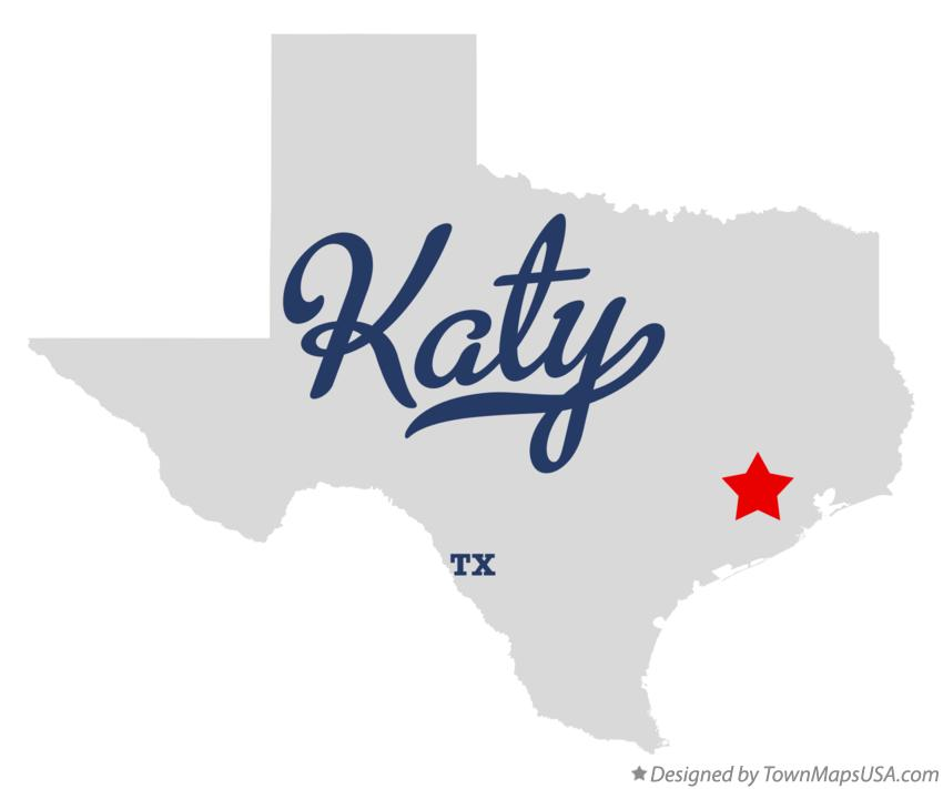 Map Of Texas Katy.Map Of Katy Tx Texas