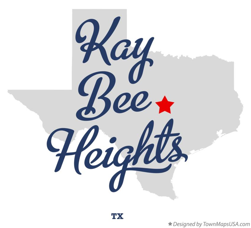 Map of Kay Bee Heights Texas TX