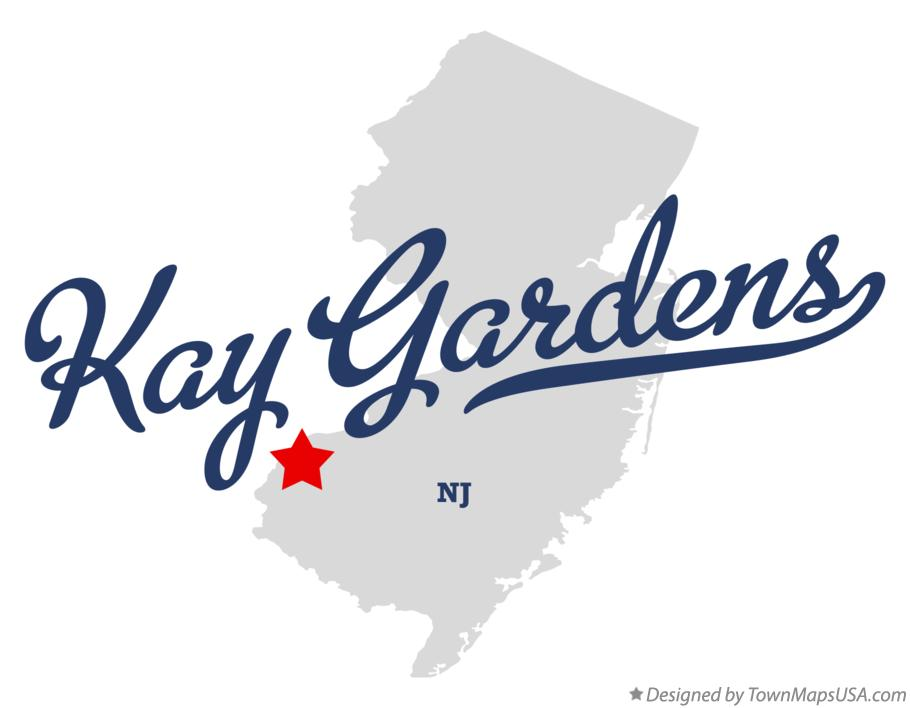 Map of Kay Gardens New Jersey NJ