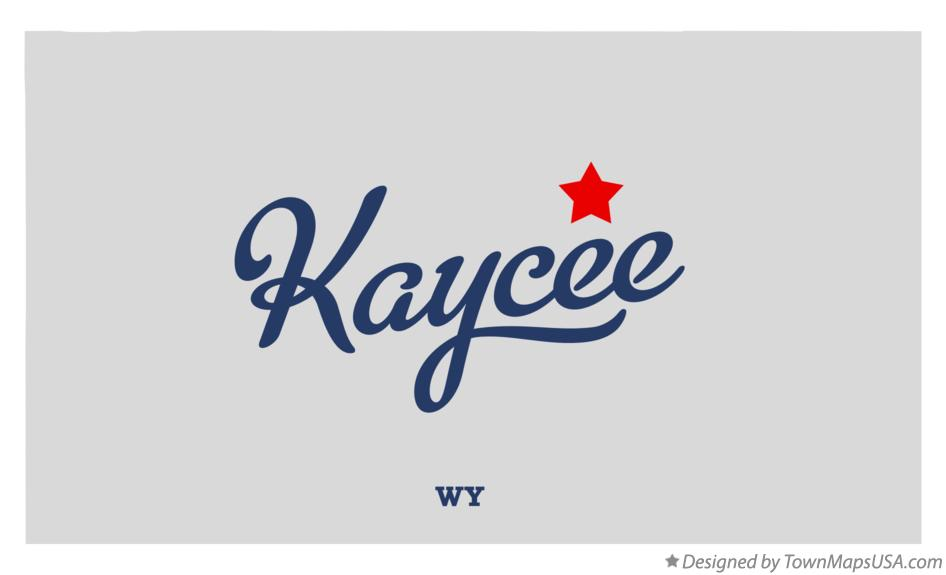 Map of Kaycee, WY, Wyoming Kaycee Wyoming On Us Map on rock springs wyoming on us map, laramie wyoming on us map, cheyenne wyoming on us map, green river wyoming on us map,