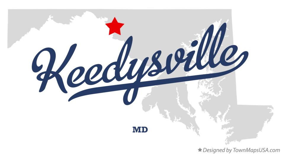 Map of Keedysville Maryland MD