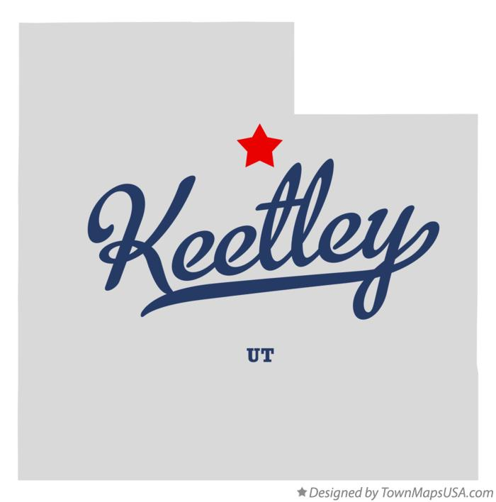 Map of Keetley Utah UT