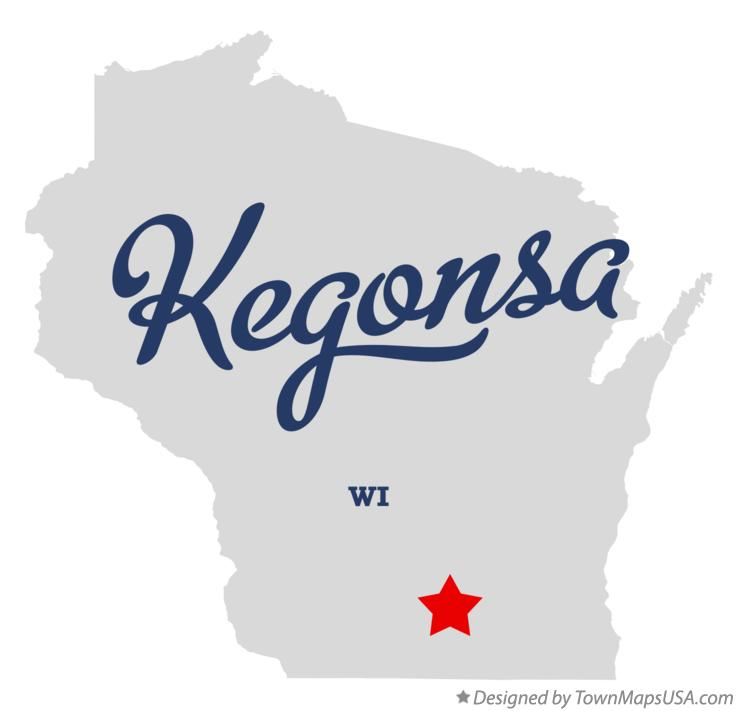 Map of Kegonsa Wisconsin WI