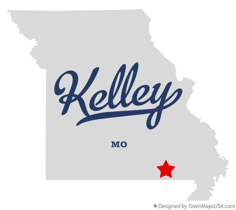 Map of Kelley Missouri MO