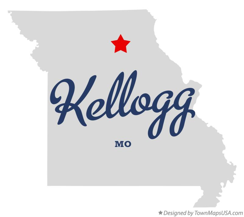 Map of Kellogg Missouri MO