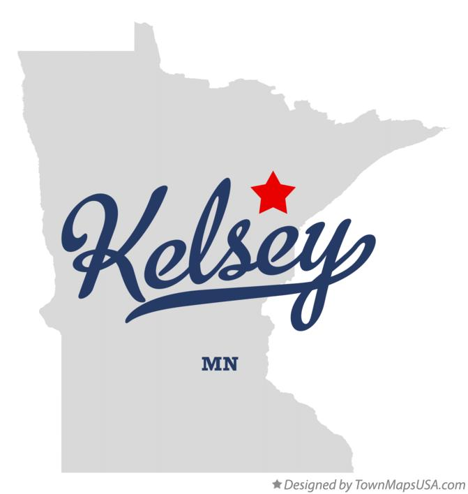 Map of Kelsey Minnesota MN