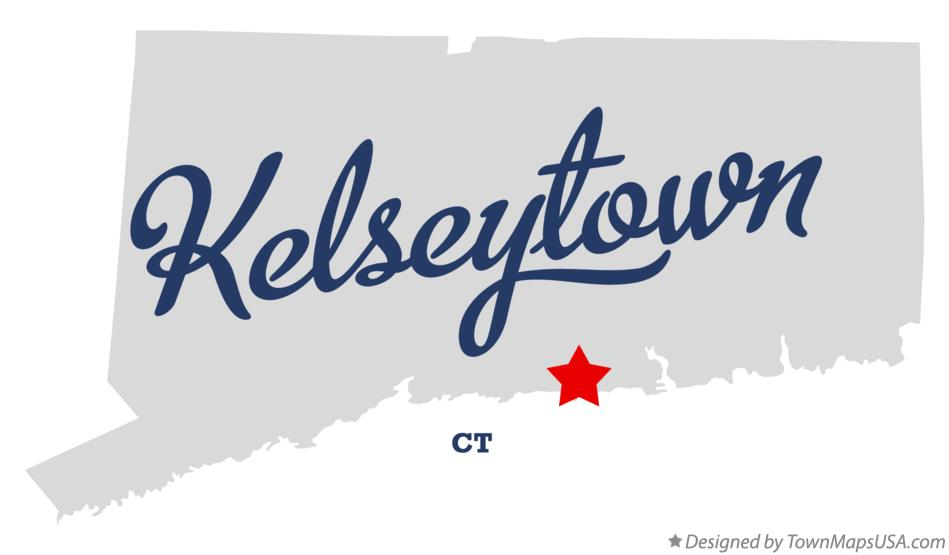Map of Kelseytown Connecticut CT