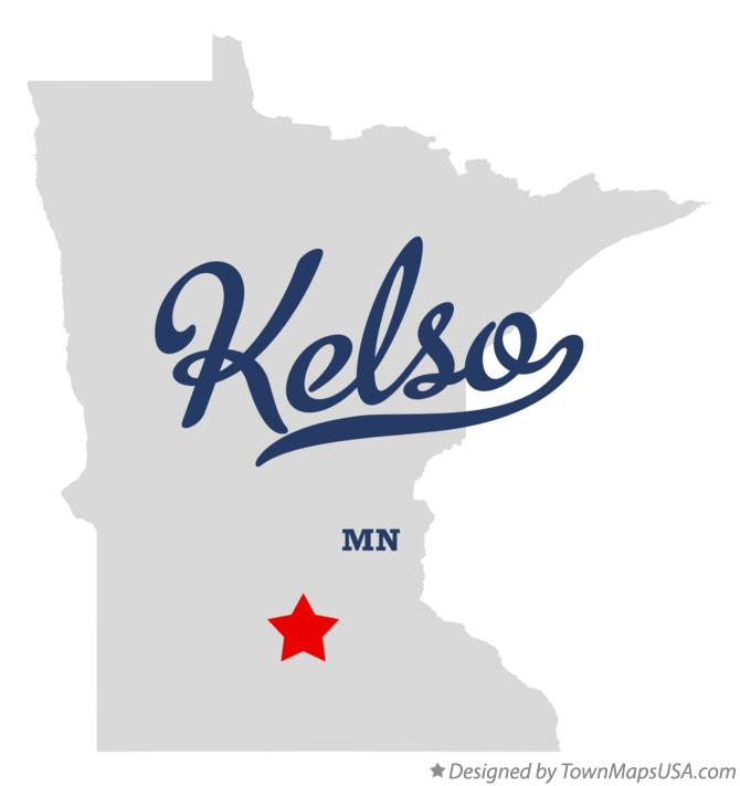 Map of Kelso Minnesota MN