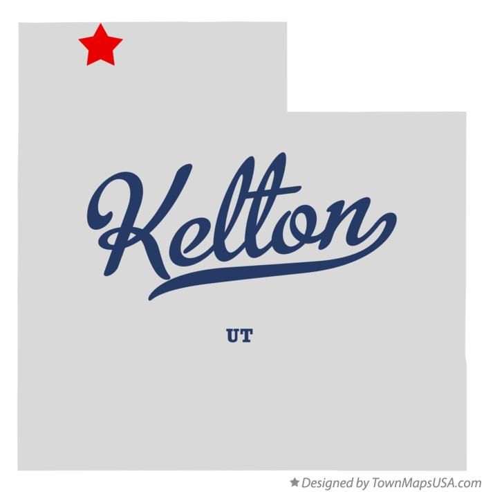 Map of Kelton Utah UT