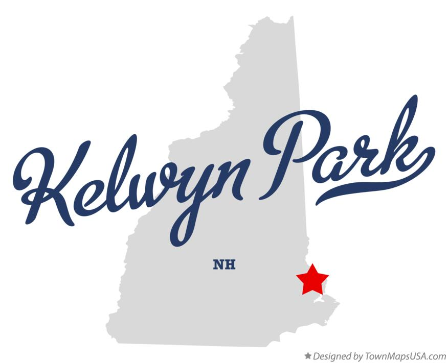 Map of Kelwyn Park New Hampshire NH
