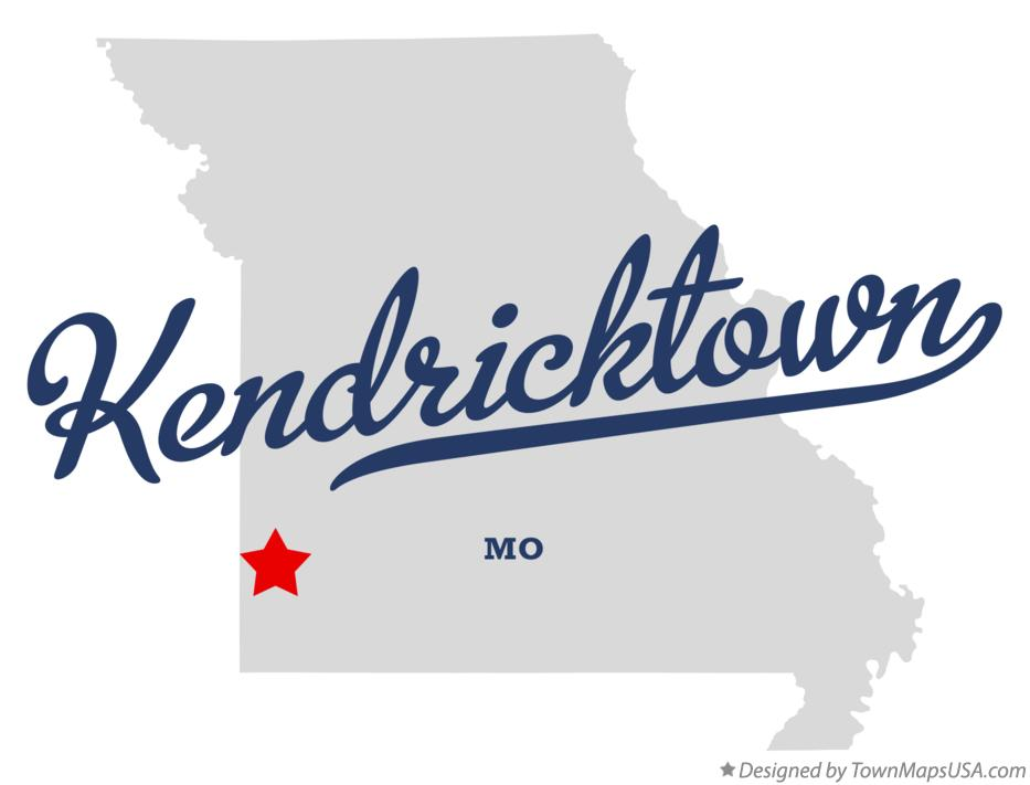 Map of Kendricktown Missouri MO