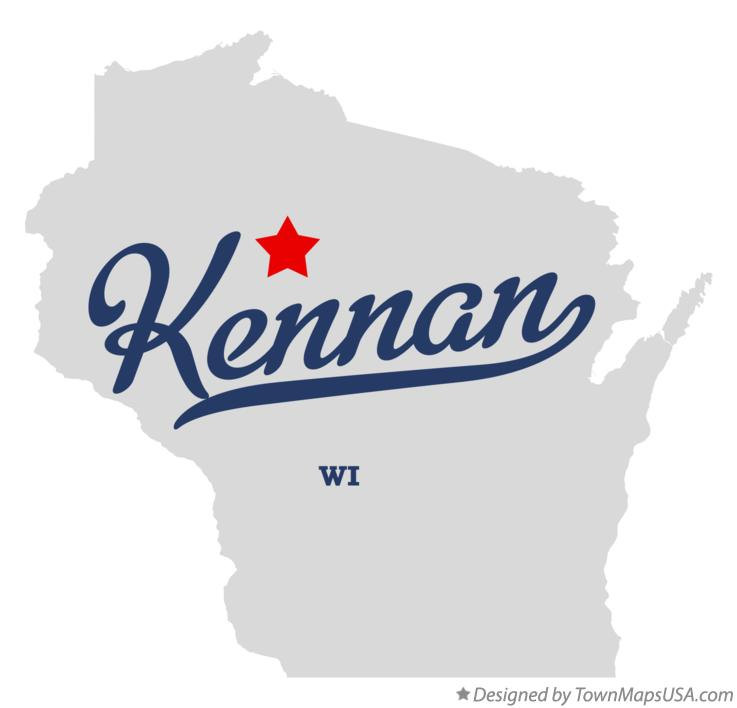 Map of Kennan Wisconsin WI