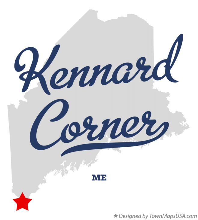 Map of Kennard Corner Maine ME